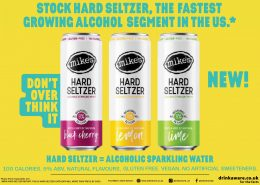 Mike's Hard Seltzer 5% alcohol