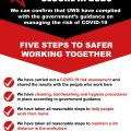 Staying COVID-19 secure in 2020 guidelines for safer working
