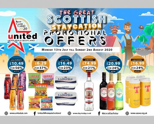 The great scottish staycation promotional offers P10 2020 cash & carry brochure
