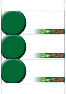 Day-Today Shelftalkers Blank
