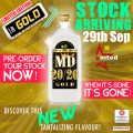 MD 20/20 gold limited edition pre-order your stock now