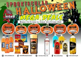 spooktacular halloween mega deals by United wholesale Scotland