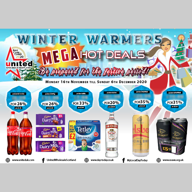 winter warmers mega hot deals be prepared for the festive period