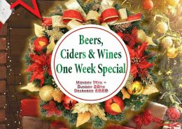 Dont miss these extraordinary xmas offers - Beers, ciders & wines one week special