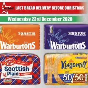 Warburtons Family Bakers Toastie Medium Scottish Plain Medium Cut Kingsmill Thick