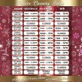 Festive Openig Times Queenslie Maxwell M9 cash and carry depots